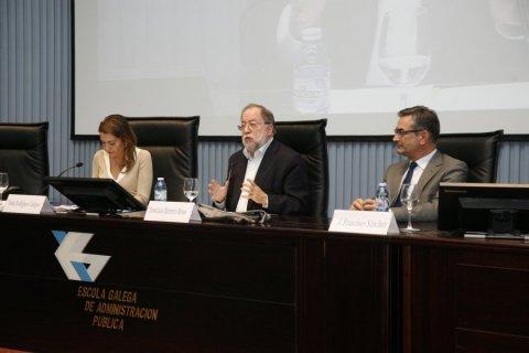 Os compoñentes éticos, políticos e xurídicos dunha sociedade limpa  - Curso monográfico sobre ética pública e medios para previr a corrupción